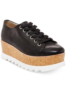 Steve Madden Women's Korrie Lace-Up Platform Sneakers Women's Shoes
