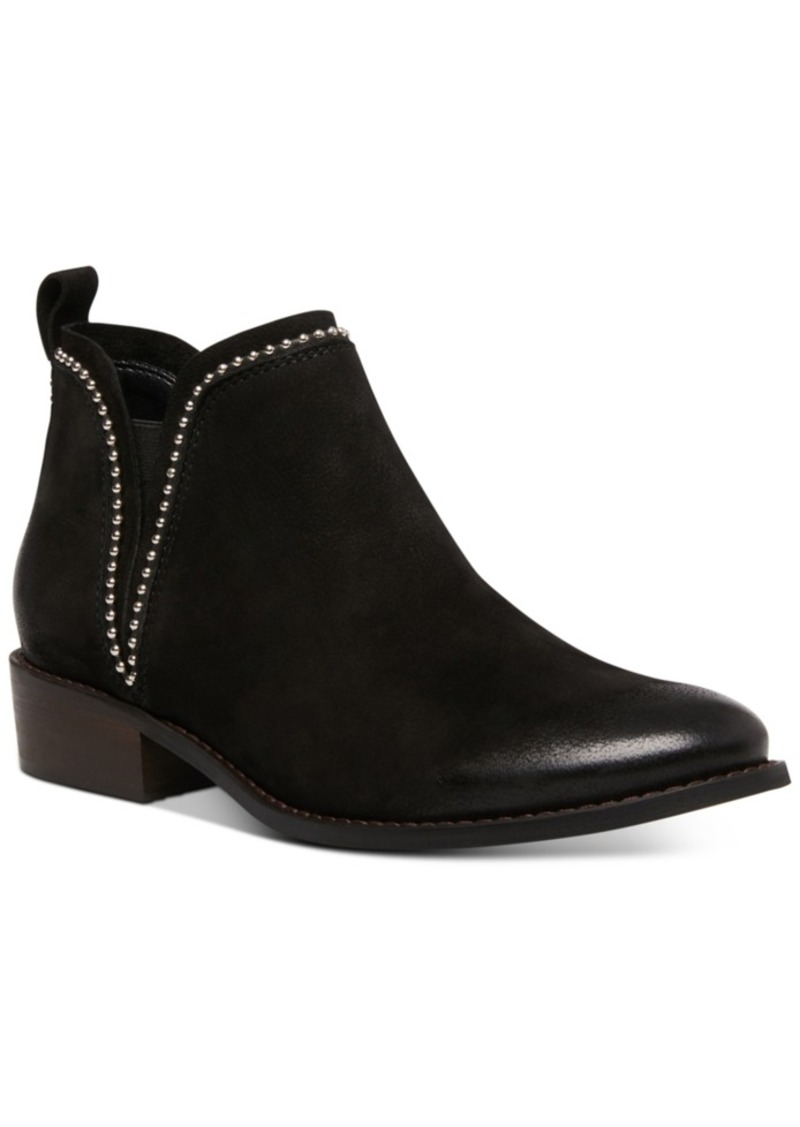 Steve Madden Women's Koto Studded Ankle Leather Booties