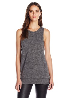 Steve Madden Women's Lace up Sleeveless Tunic with Pockets