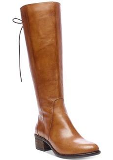 Steve Madden Women's Laceup Wide-Calf Tall Boots Women's Shoes