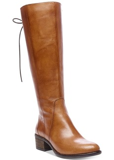 Steve Madden Women's Laceup Wide-Calf Tall Boots Women's Shoes