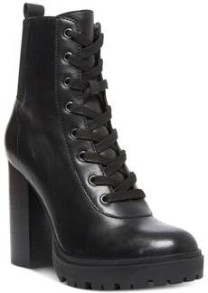 Steve Madden Women's Latch Lace-Up Hiker Booties