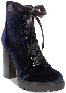 Steve Madden Women's Laurie Platform Lace-Up Booties