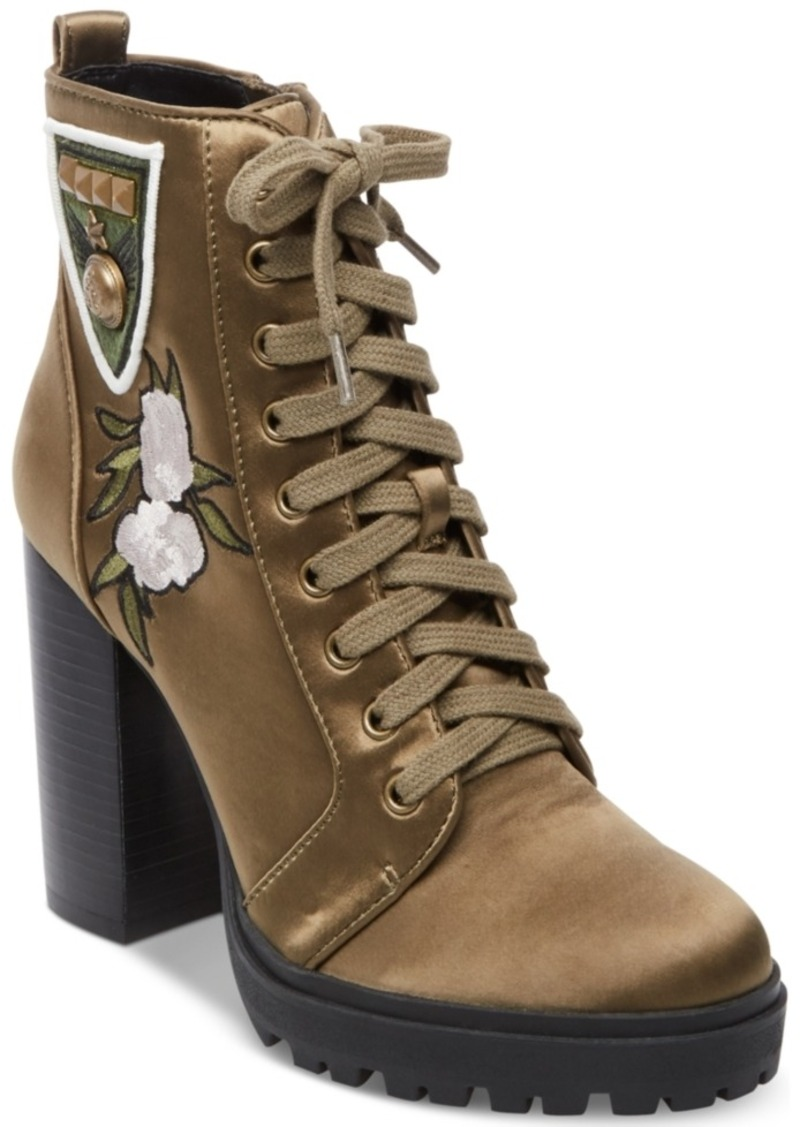 78808b5b630 Women's Laurie Platform Lace-Up Booties
