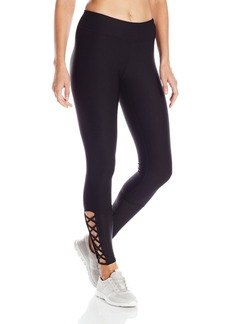Steve Madden Women's Legging with Lattice Detail