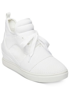 Steve Madden Women's Lexi Flyknit Wedge Sneakers