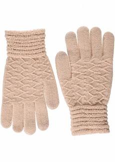 Steve Madden Women's Lurex Zip Zag iTouch Glove  ONE SIZE