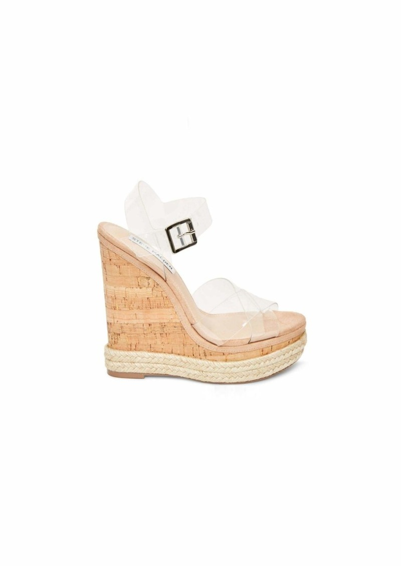 Steve Madden Women's Maven Wedge Sandal   M US