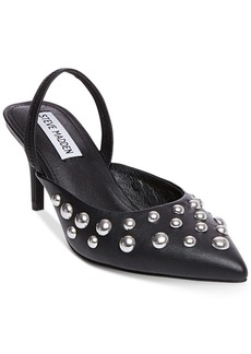 Steve Madden Women's Meteor Studded Kitten-Heel Pumps