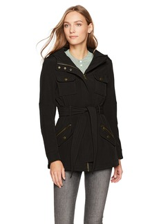 Steve Madden Women's Military Softshell Anorak  XL
