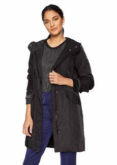 Steve Madden Women's Nylon Anorak Jacket  M