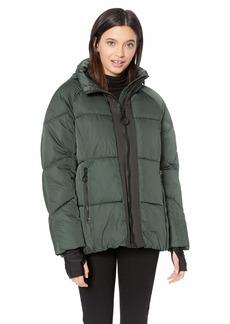 Steve Madden Women's Nylon Puffer Jacket  M