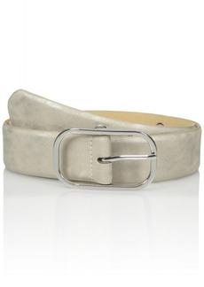 Steve Madden Women's Pant Belt with Oval Grommet Holes
