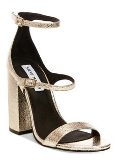 Steve Madden Women's Parrson Block-Heel Sandals Women's Shoes