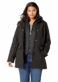 Steve Madden Women's Plus Size Softshell Fashion Jacket  2X
