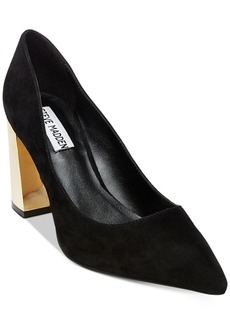 Steve Madden Women's Pointur Pointed-Toe Block-Heel Pumps Women's Shoes