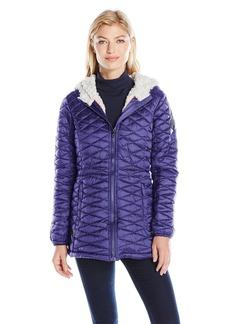 Steve Madden Women's Quilted Glacier Shield Coat  M