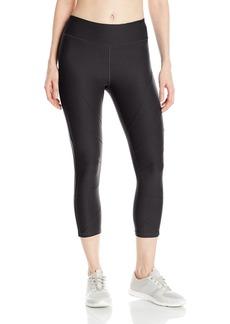 Steve Madden Women's Radial Seamed Capri Legging  XL