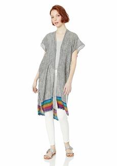 Steve Madden Women's Rainbow Hem Vest