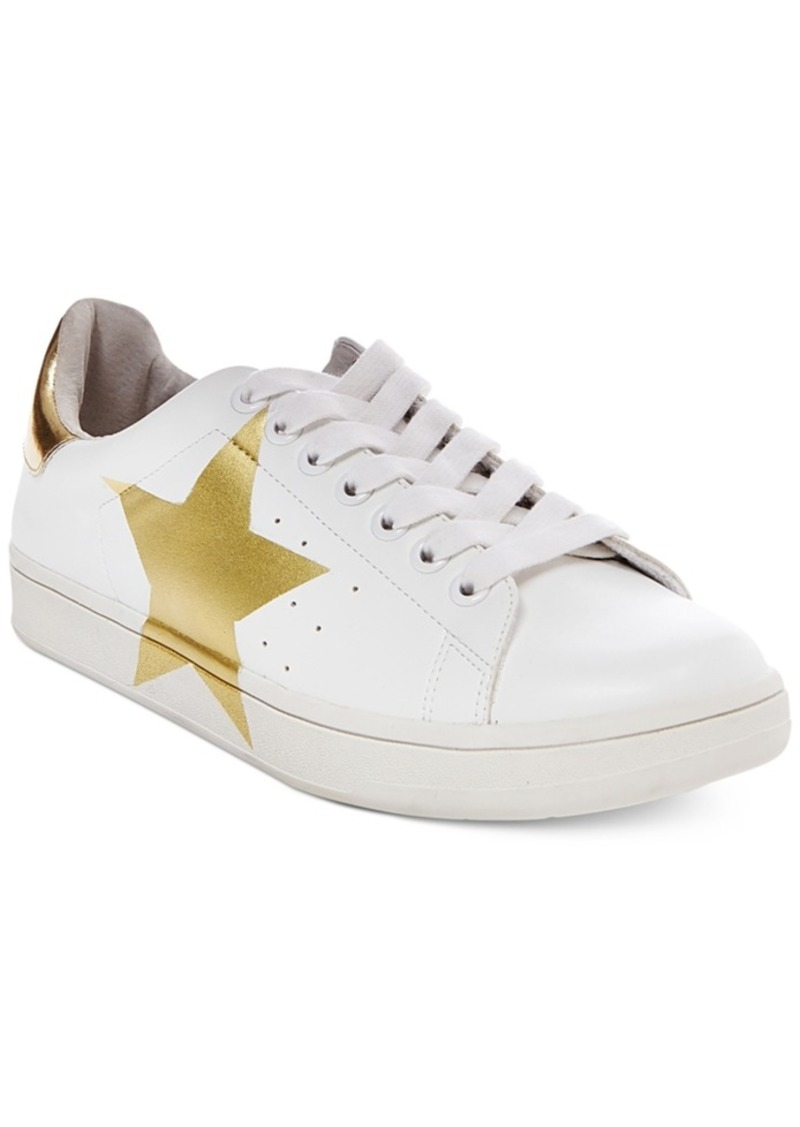 434057aa6ec SALE! Steve Madden Steve Madden Women s Rayner Star Lace-Up Sneakers ...