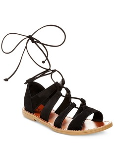 Steve Madden Women's Sanndee Lace-Up Sandals Women's Shoes