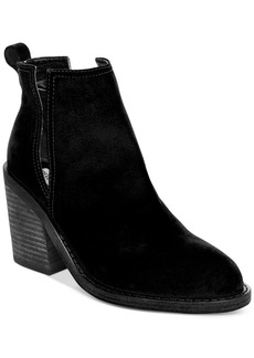 Steve Madden Women's Sharini Cut-Out Booties Women's Shoes