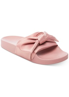 Steve Madden Women's Silky Slip-On Pool Slides