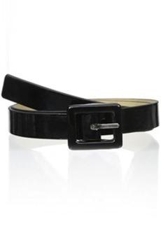 Steve Madden Women's Skinny Patent Pant Belt