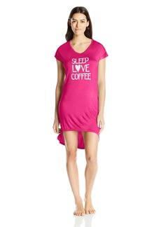 Steve Madden Women's Love Coffee Sleep Shirt
