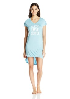 "Steve Madden Women's ""Sleep Love Coffee"" Sleep Shirt"