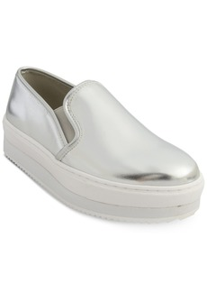 Steve Madden Women's Slick Slip-On Platform Sneakers