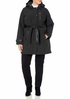 Steve Madden Women's Plus Size Softshell Fashion Jacket