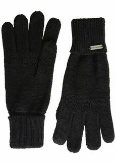 Steve Madden Women's Solid Boyfriend iTouch Glove  ONE SIZE