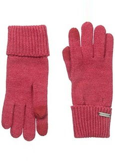 Steve Madden Women's Solid Knit Boyfriend Touch Glove