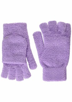 Steve Madden Women's Solid Magic Tailgate Glove lilac ONE SIZE