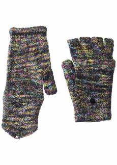 Steve Madden Women's Space Dye Convertible Magic Tailgate Glove black Multi