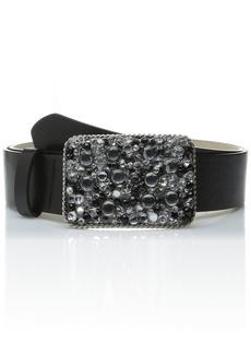 Steve Madden Women's Stone Plaque Pant Belt