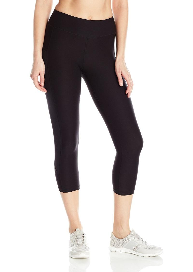 Steve Madden Women's Stud Embossed Capri Legging  XL
