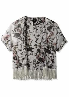 Steve Madden Women's Swiss DOT Kimono