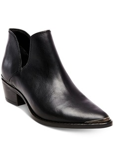 Steve Madden Women's Tempe Block-Heel Booties Women's Shoes