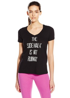 Steve Madden Women's The Sidewalk Is My Runway Tee