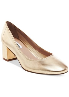 Steve Madden Women's Tomorrow Block-Heel Pumps Women's Shoes