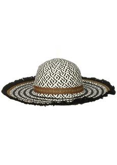 Steve Madden Women's Tribal Floppy Hat