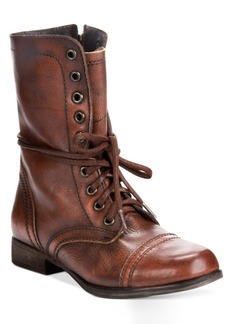 Steve Madden Women's Troopa Combat Boots Women's Shoes