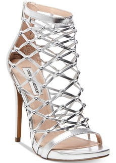 Steve Madden Women's Ursula Caged Dress Sandals Women's Shoes