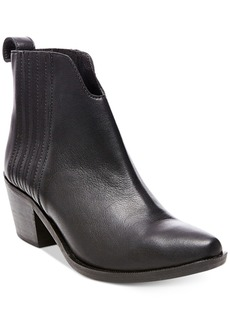 Steve Madden Women's Webster Block-Heel Booties Women's Shoes