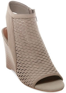 Steve Madden Women's Winny Perforated Wedge Sandals