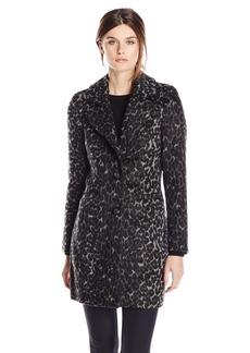 Steve Madden Women's Wool Blend Boyfriend Coat