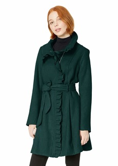 Steve Madden Women's Wool Fashion Coat  L