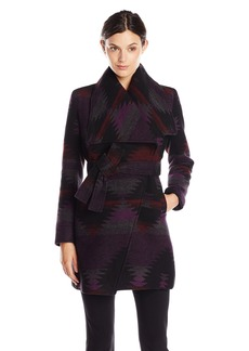 Steve Madden Women's Wool Wrap Coat